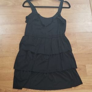 Black Mini Tank Dress